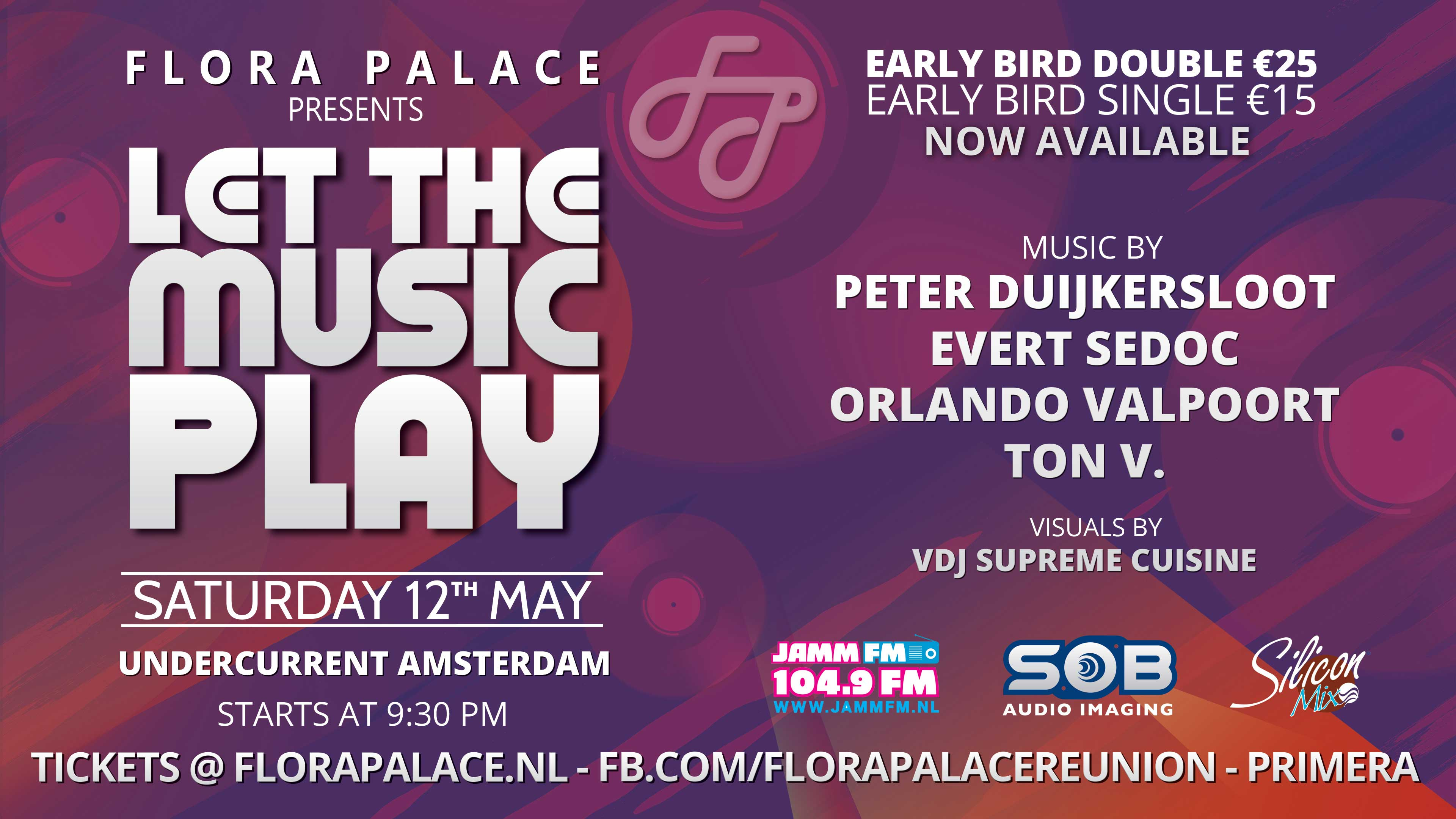 flora palace presents let the music play